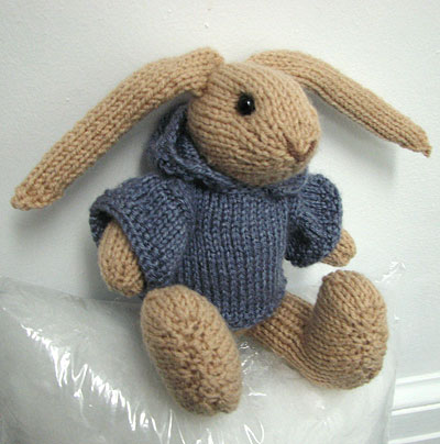 Knitted Rabbit